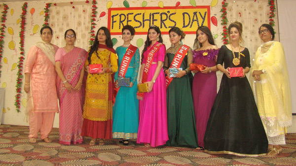 Fresher's Day 2019 was celebrated at Malwa Central College of Education for Women