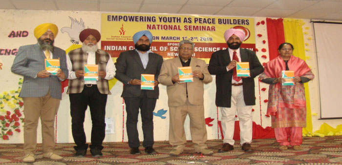 Book Release of Dr. Sukhwinder Singh 's book 'Assessment for Learning' in hindi Medium' for B.Ed.